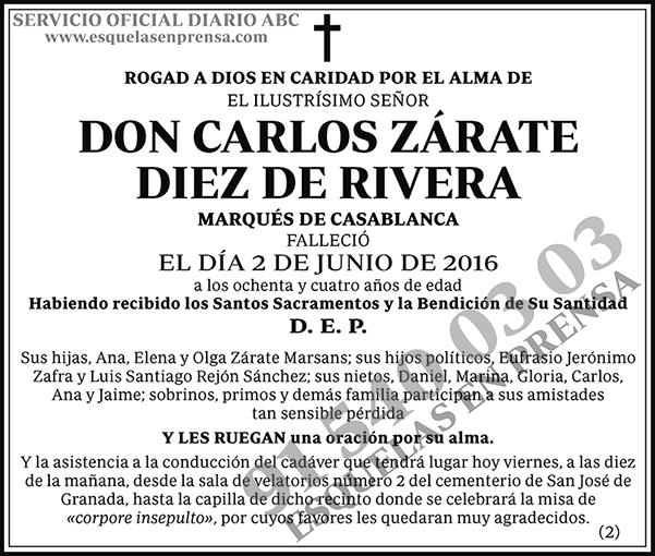 Carlos Zárate Diez de Rivera